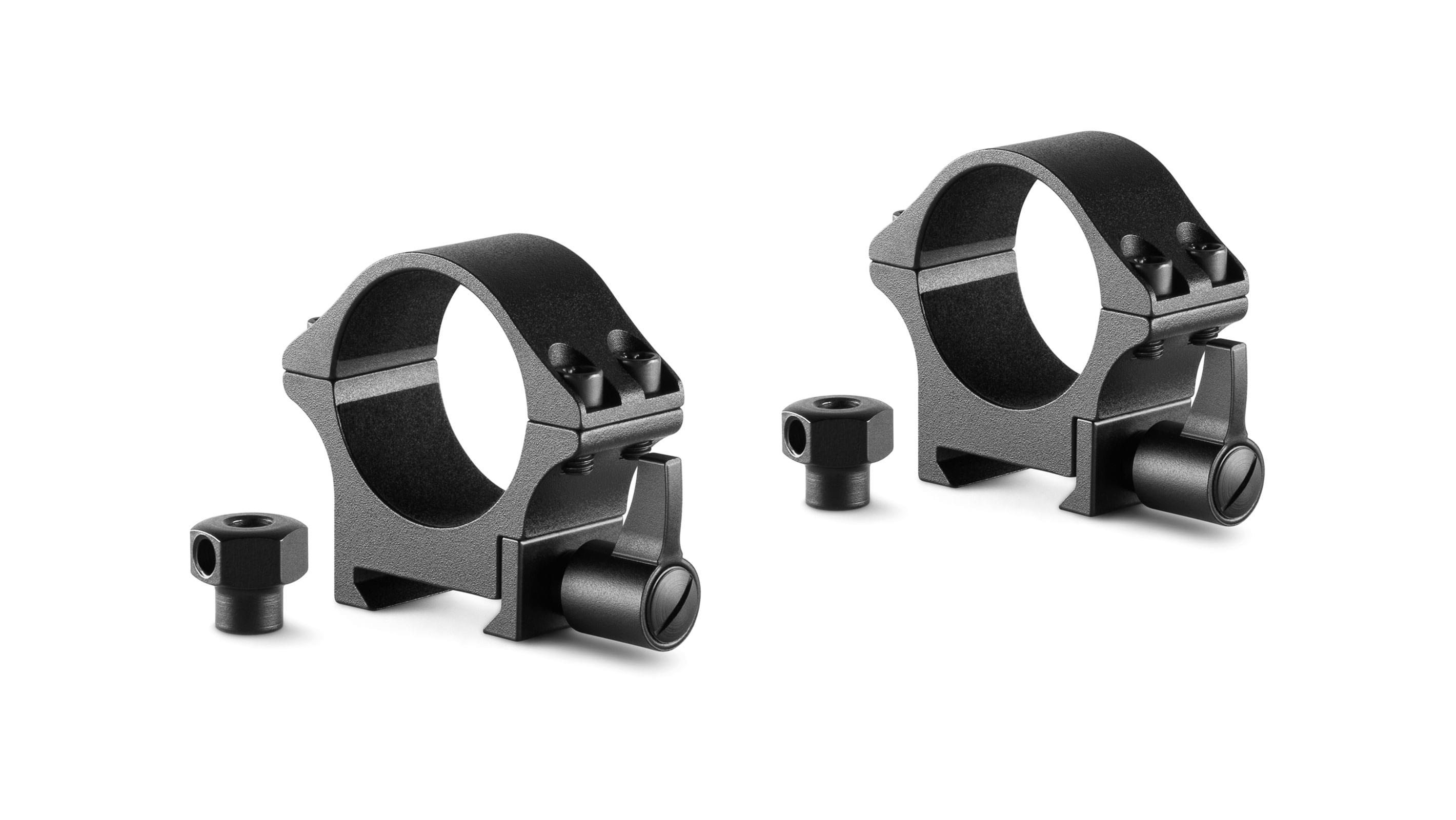 Professional Steel Ring Mounts 30mm 2 Piece  Weaver Low